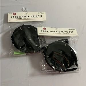 Face Mask and Hair Sets PACK Of 2